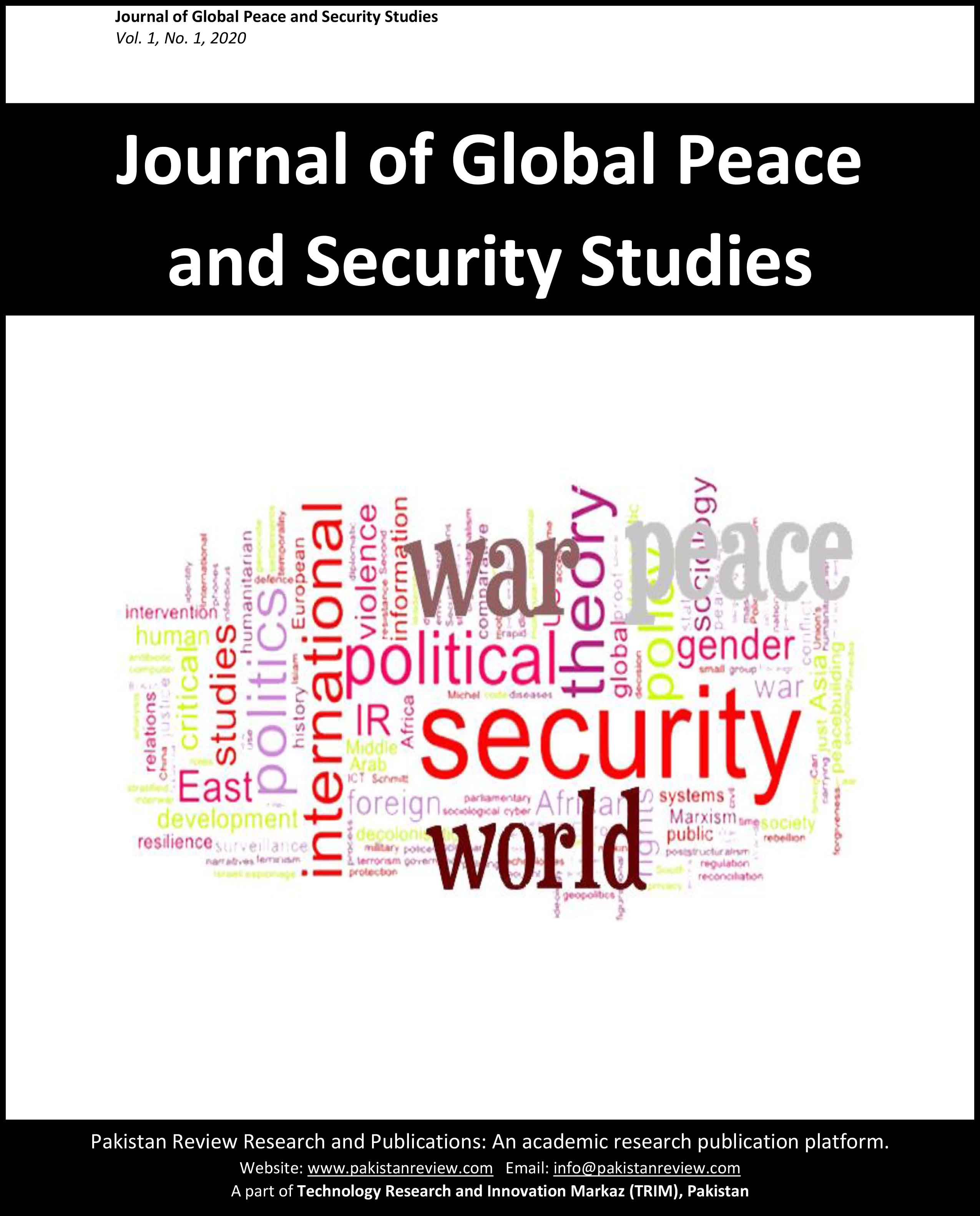 Journal of Global Peace and Security Studies (JGPSS)